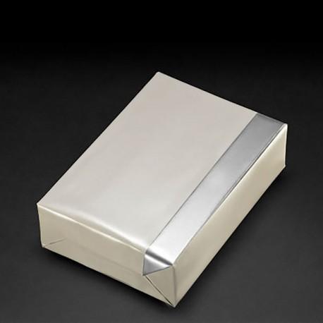 Bobine papiercadeau reversible 30cmx250m Perl