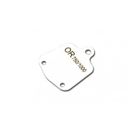 Lot 1000 etiq. plast. B/O   15x19 mm Antea Or 750/1000