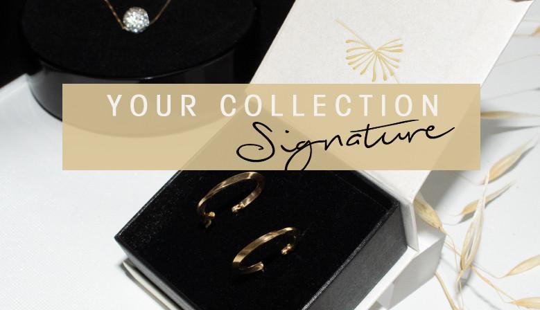 a specific signature box