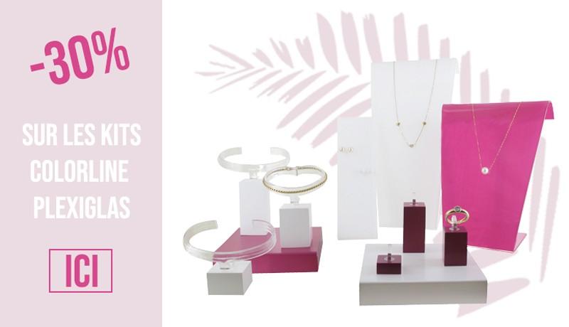 Promotion kit Colorline plexiglas