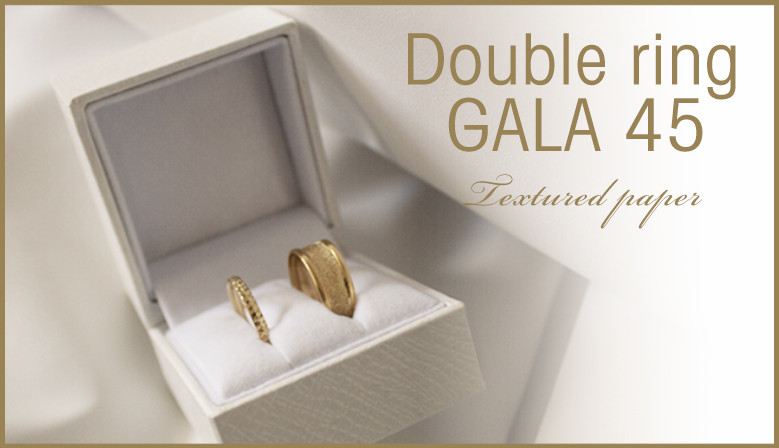 double ring gala 45 box
