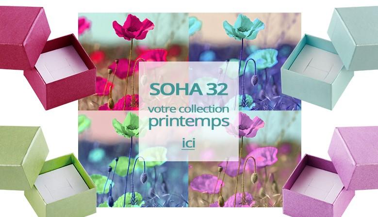 Soha 32 la collection printemps