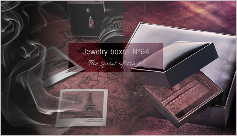 Leather boxes N°64